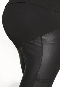 LOVE2WAIT - SIDEPOCKETS - Trousers - black - 4