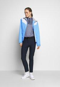 Cross Sportswear - CLOUD JACKET - Kurtka Outdoor - forever blue - 1