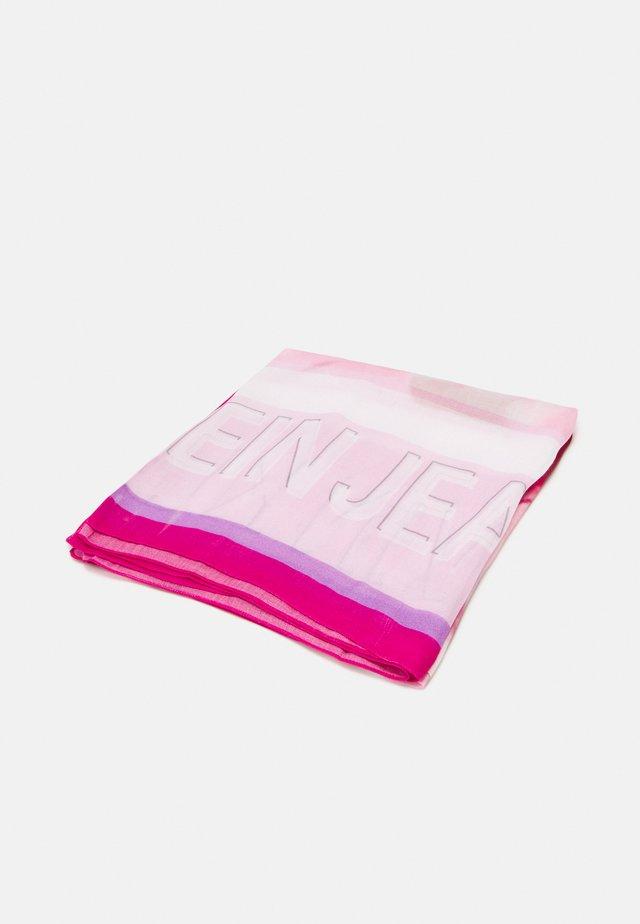 MARBLE SCARF - Foulard - pink