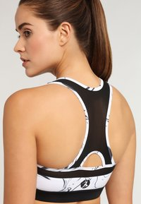 LASCANA Active - Sport BH - white marbled - 4