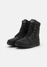 Harley Davidson - STEINMAN - Nauhalliset nilkkurit - black - 1