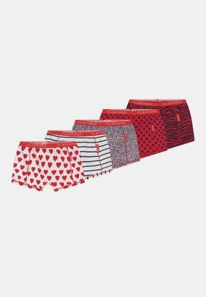 GIRLS EXCLUSIVE 5 PACK - Panties - red/blue