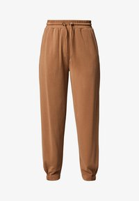 comma casual identity - REGULAR STRUKTUR - Tracksuit bottoms - mud brown - 5