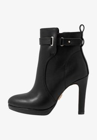 VEGAN AUDRINA - High heeled ankle boots - black
