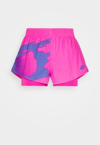 pink foil/sapphire