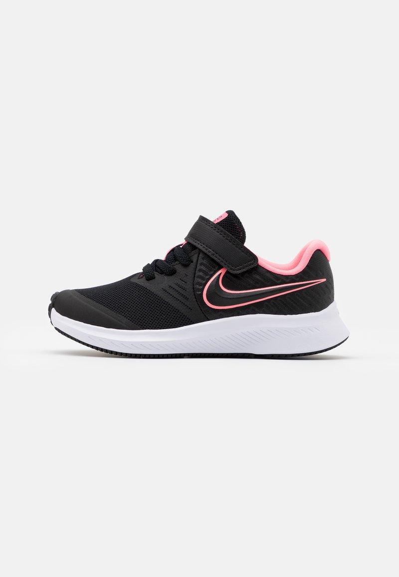 Nike Performance - STAR RUNNER 2 UNISEX - Neutral running shoes - black/sunset pulse/white