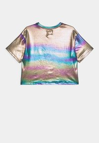 Converse - SHINY CHUCK PATCH TIE FRONT BOXY - T-Shirt print - multicolor - 1