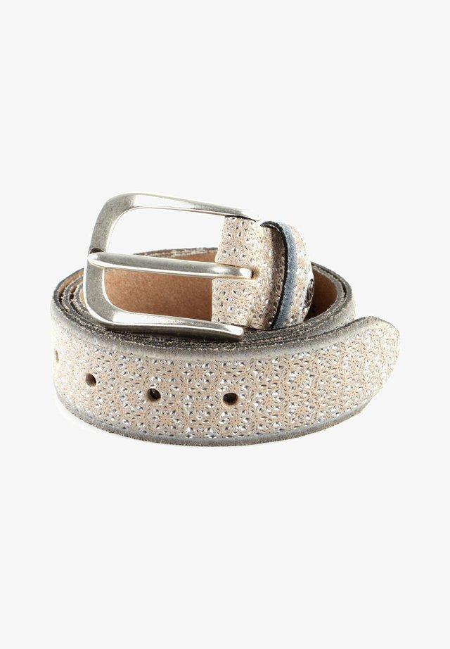 TESSA  - Belt - creme / silver metallic