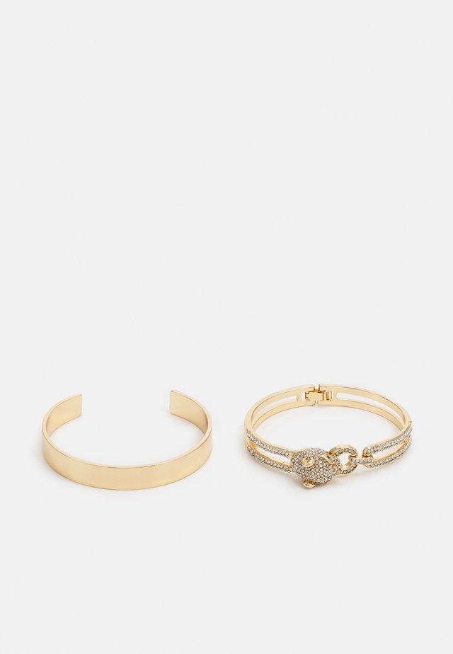 WICCAREDDA 2 PACK - Bracelet - gold-coloured