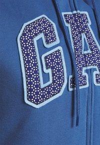 GAP - Bluza rozpinana - chrome blue - 2