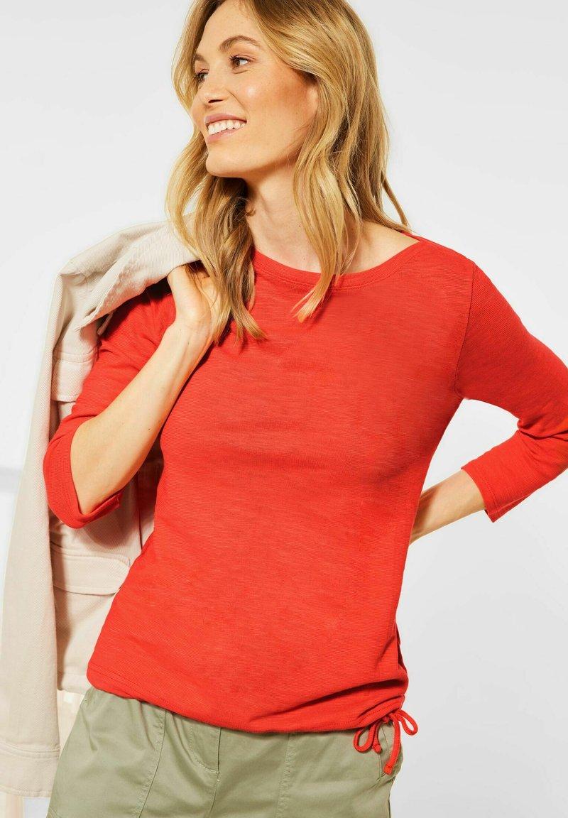 Cecil - Long sleeved top - orange