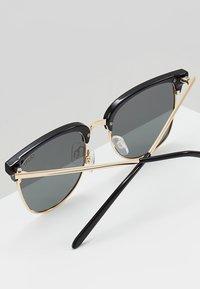 QUAY AUSTRALIA - EVASIVE - Sunglasses - high shine black/smoke - 5