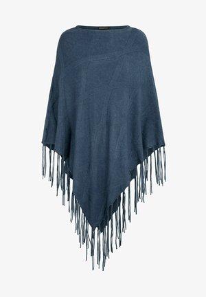 MIT FRANSEN - Cape - jeans-melange