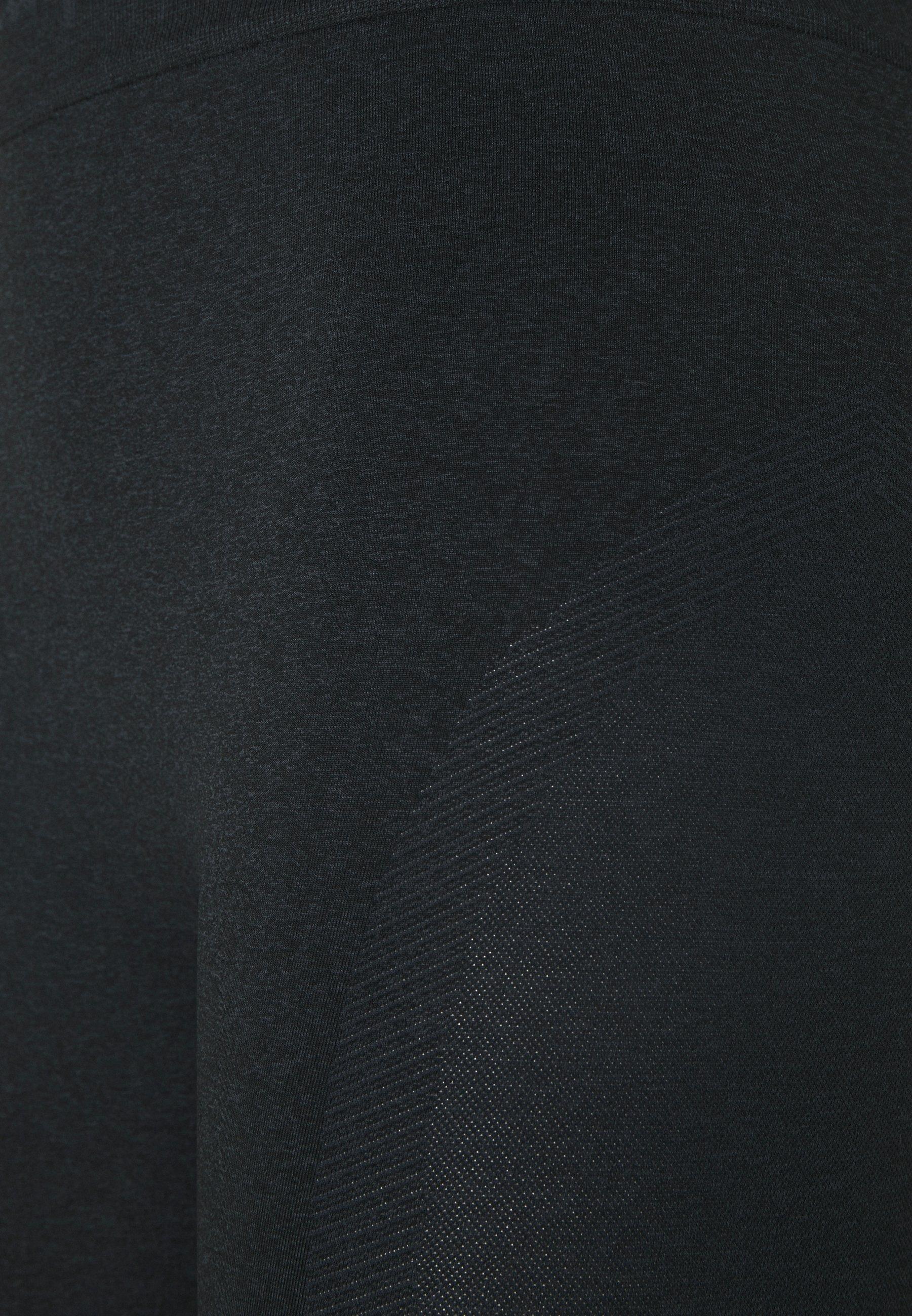 Champion SEAMLESS LEGACY - Leggings - black cVxJ8