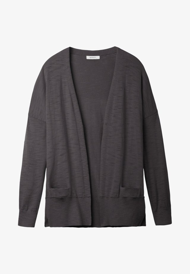Cardigan - heather anthracite