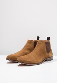 Pier One - LEATHER - Stiefelette - cognac - 2