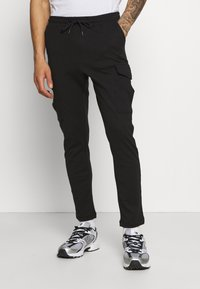 Brave Soul - ROCKERPLAIN - Cargo trousers - black - 0
