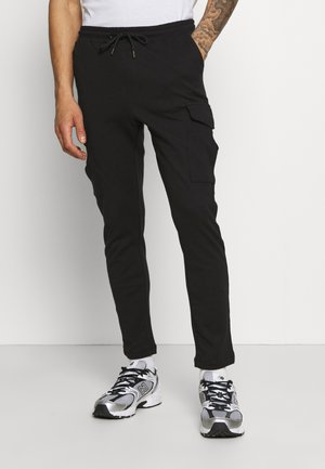 ROCKERPLAIN - Pantalones cargo - black