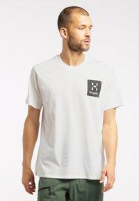 Haglöfs - Print T-shirt - soft white - 1