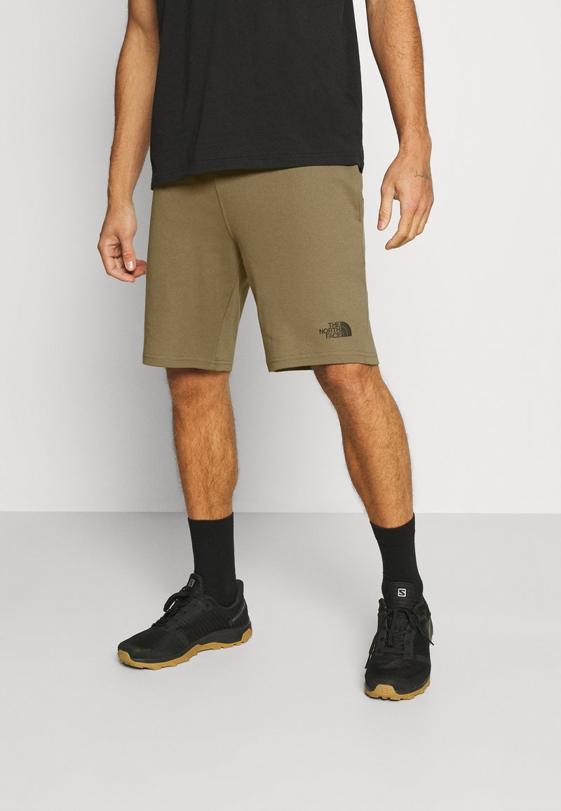 The North Face - MENS GRAPHIC SHORT  - Träningsshorts - military olive