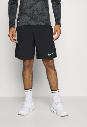 FLEX - Sports shorts - black/white