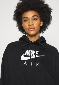 Nike Sportswear - AIR HOODIE - Kapuzenpullover - black/white - 3