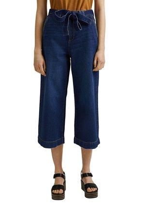 Flared Jeans - blue dark washed