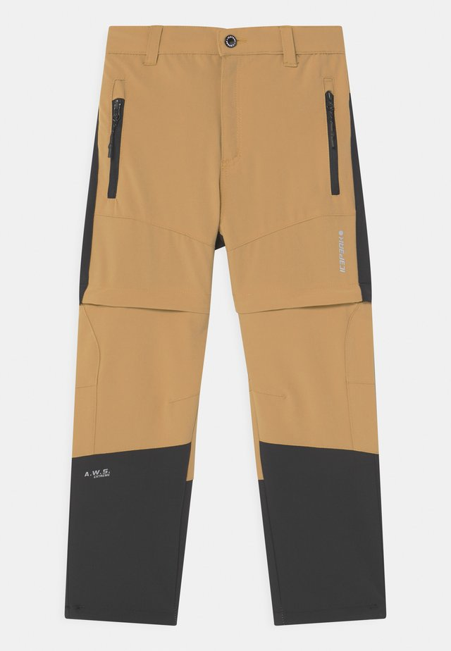 KAYES UNISEX - Outdoor trousers - camel