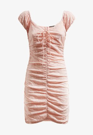 INGRID - Robe fourreau - rose