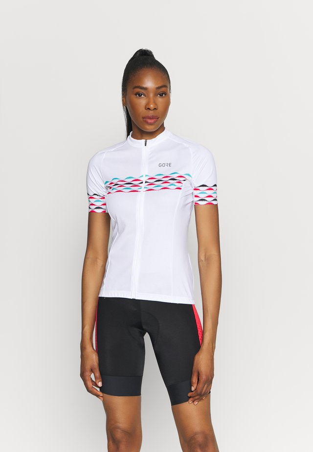 SKYLINE - T-shirts print - white/blue