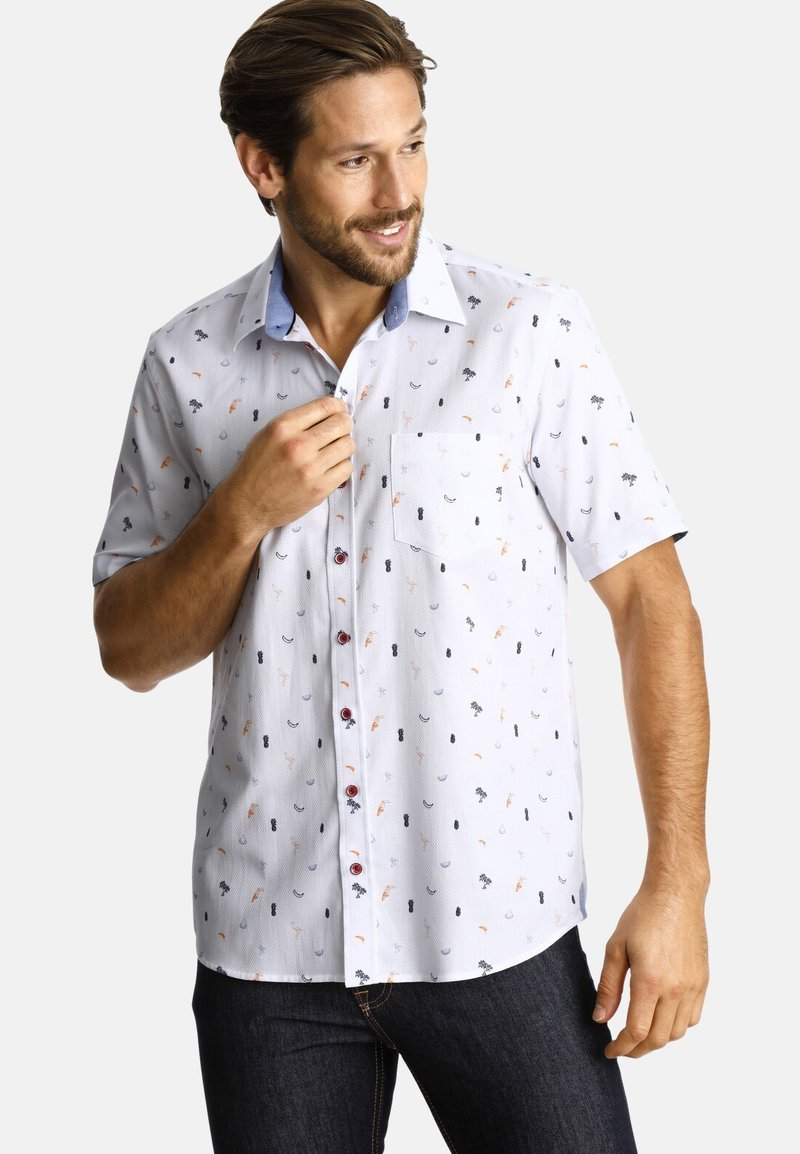 SHIRTMASTER - COCKTAIL INSPIRATION - Chemise - white