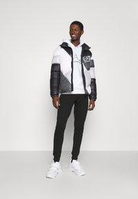 EA7 Emporio Armani - Winter jacket - black/white - 1