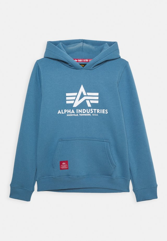 BASIC HOODY KIDS TEENS - Hoodie - airforce blue