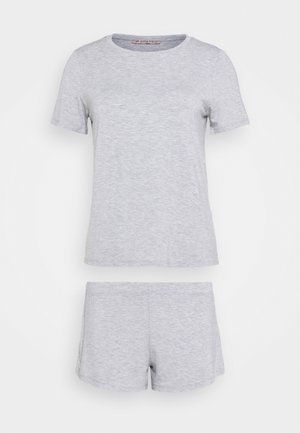 BASIC JERSEY SHORT SET - Pyjama set - light grey