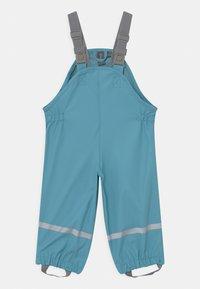 Color Kids - SET SOLID UNISEX - Vodotěsná bunda - delphinium blue - 3