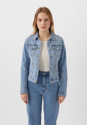 Spijkerjas - light blue