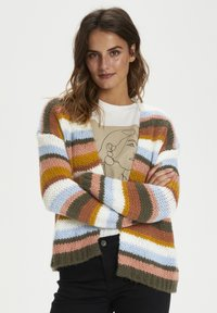 Kaffe - KAMERLA - Cardigan - multi color stripe - 0