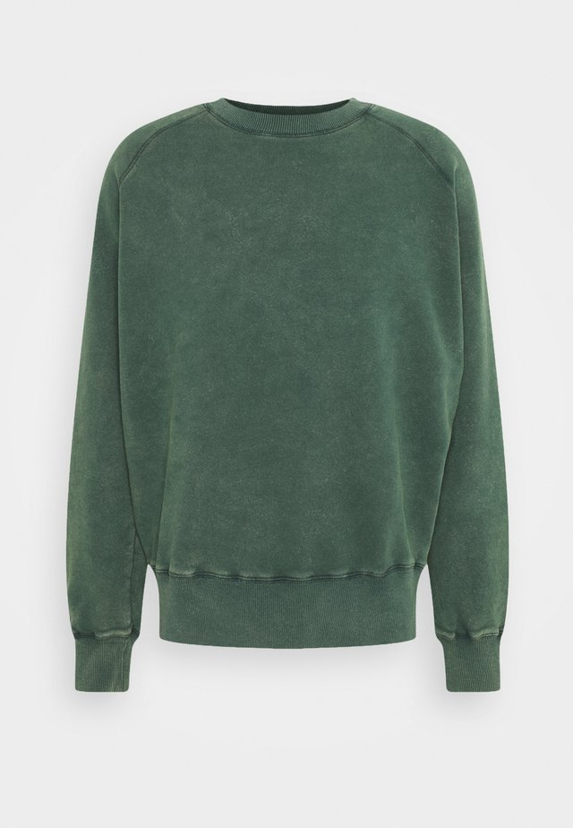 HEAVYWEIGHT RAGLAN - Sweatshirt - green