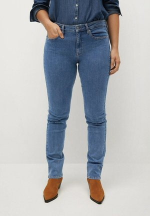 SUSAN - Slim fit jeans - middenblauw