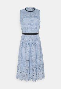 Swing - Cocktail dress / Party dress - blue dust - 6