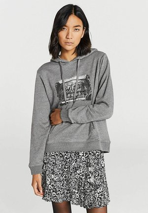 Hoodie - gris anthracite