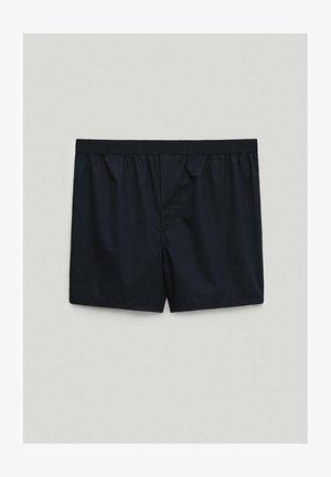 Boxer shorts - blue-black denim