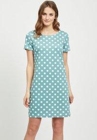 Vila - VITINNY - Shift dress - turquoise - 0