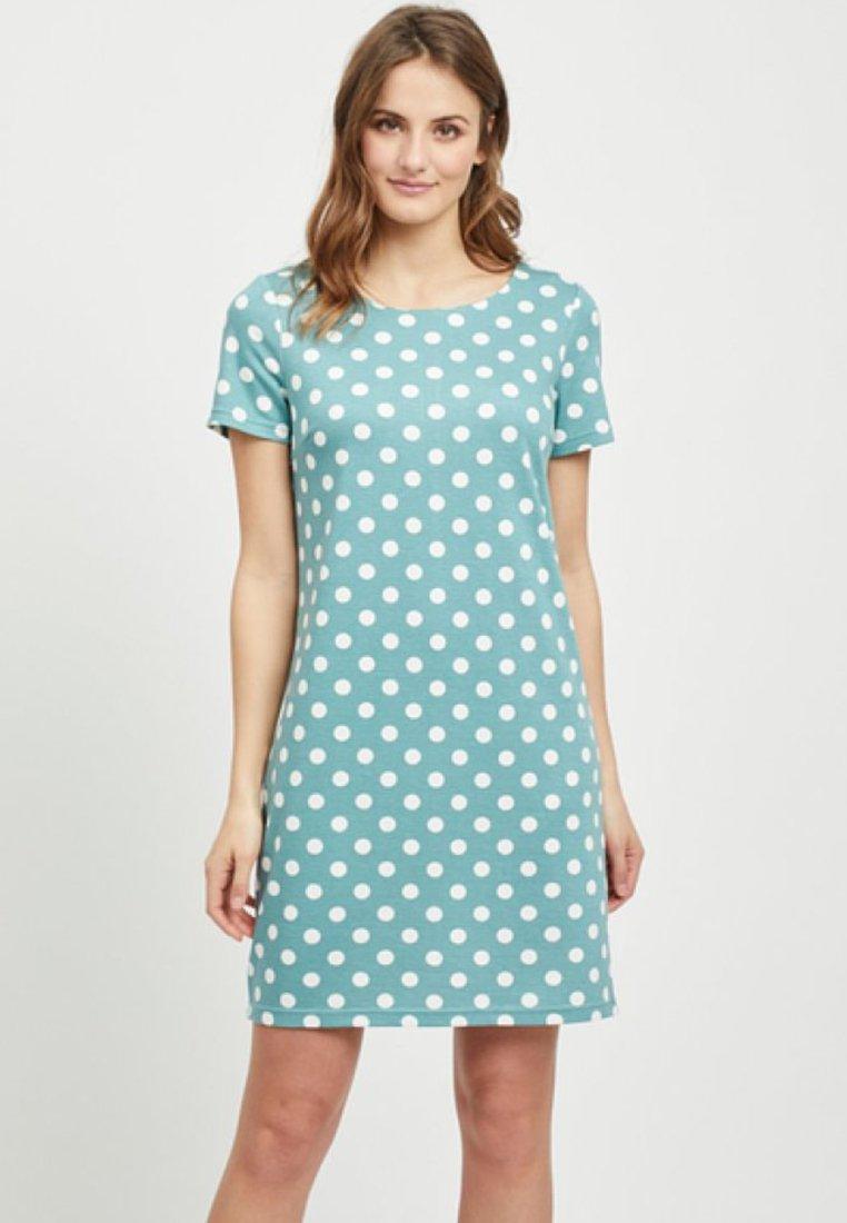 Vila - VITINNY - Shift dress - turquoise