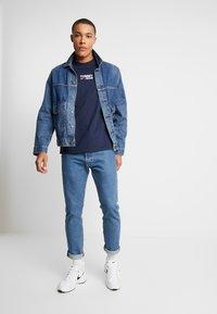 Tommy Jeans - Long sleeved top - black iris - 1
