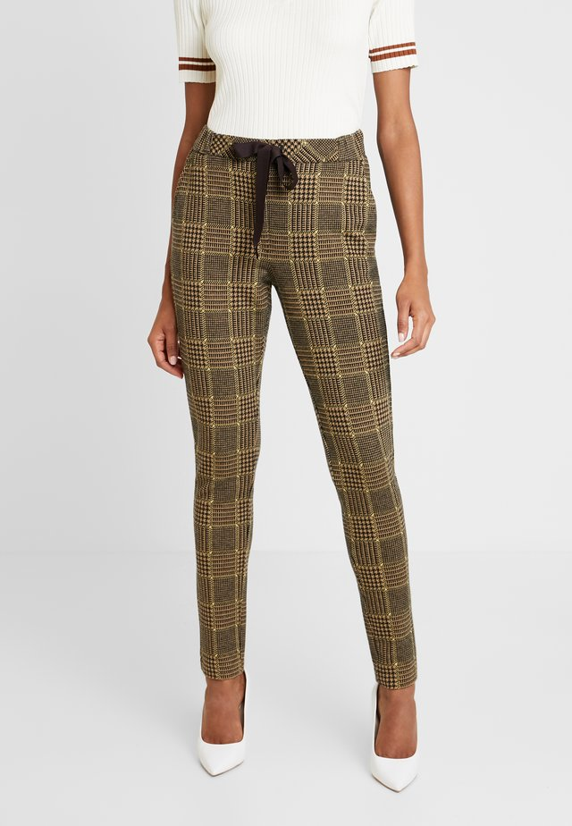 GEENA PANTALON - Kangashousut - golden yellow