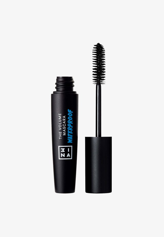 3INA MAKEUP THE VOLUME MASCARA WATERPROOF BLACK 13 ML - Mascara - black