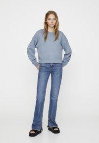 PULL&BEAR - MIT LANGEN ÄRMELN - Sweatshirt - blue - 1