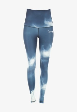 HWL102 AIR HIGH WAIST - TIGHTS - Leggings - blue