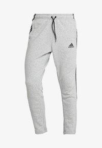 adidas Performance - MUST HAVES SPORT TIRO SLIM FIT PANT - Pantalon de survêtement - medium grey heather/black - 4